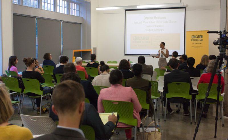 Tulane Education Research Alliance Forum 10 17 16 8